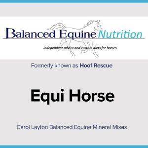 Carol Layton Balanced Equine Mineral Mixes Equi Horse